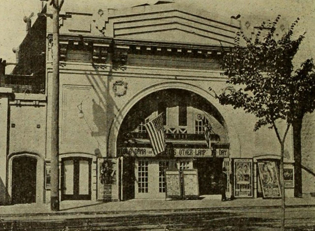 Strand Theatre, Berkeley, California, ca.1917