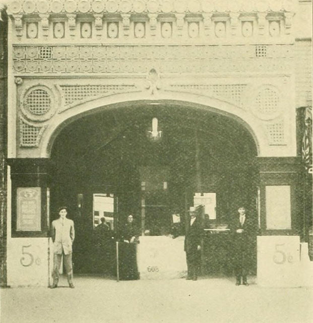 Butler's Theatre, Los Angeles, 1910s