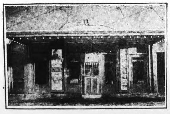 Star Theater, Rome, NY; Facade, 1926.