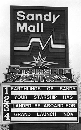 Sandy Starships Theater