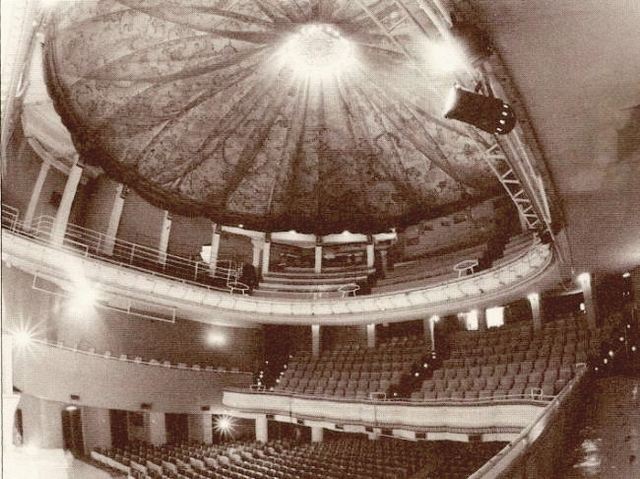 The auditorium of the Lee Theatre