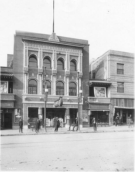 This circa 1915 Alhambra Theatre photo courtesy of EseMr LonelyBoy via the El Paso History Facebook page.