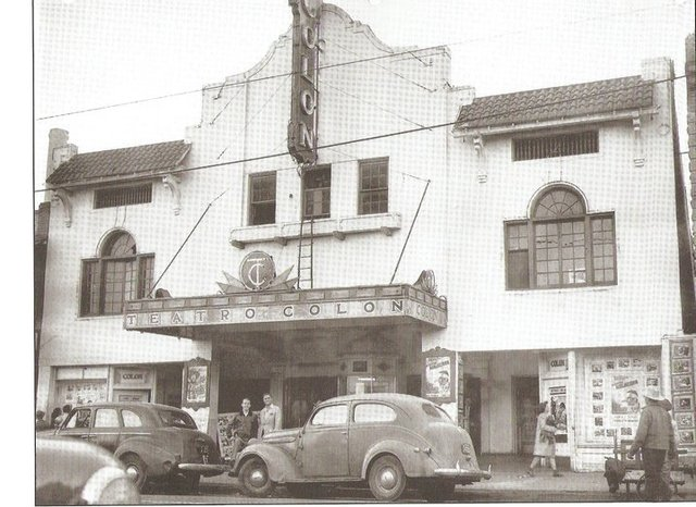 Circa 1940 photo courtesy of Alejandro Lomeli via the El Paso History Facebook page.
