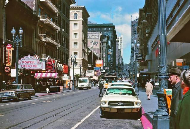 Powell St. Theatre circa 1967