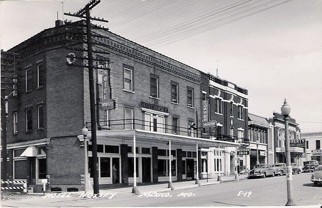 Circa 1940's photo courtesy of George Cline.