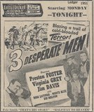 1951 newspaper ad courtesy of Tom Marshall.