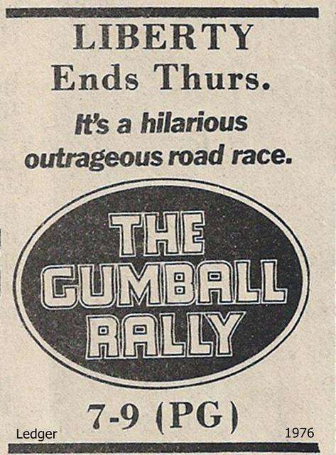 1976 newspaper ad courtesy of Tom Marshall.