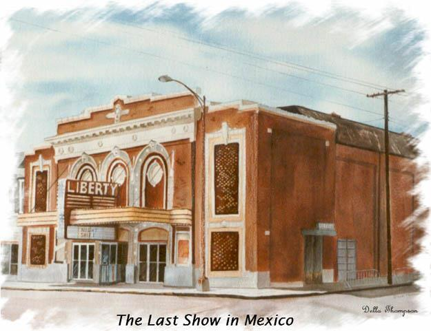 Copy of water color painting by Mexico MO artist Della (Hogan) Thompson courtesy of Tom Marshall.