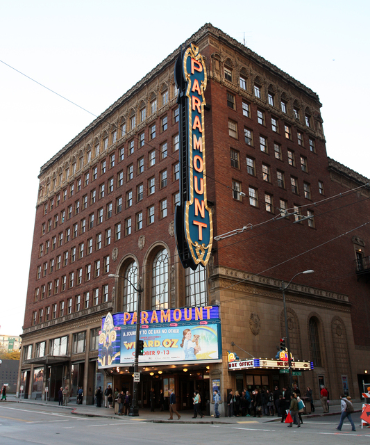 Paramount Theatre, Seattle, WA