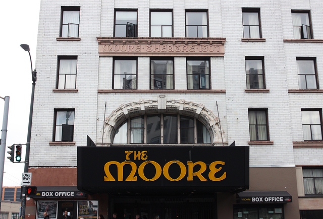Moore Theatre, Seattle, WA