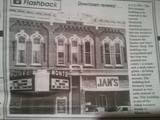 1970 newspaper clipping of the Monte Theatre.