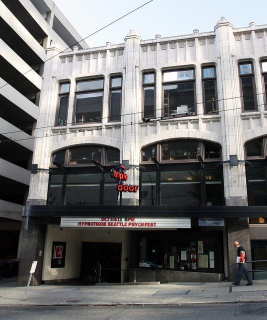 Embassy Theatre, Seattle, WA (Union Street entrance)