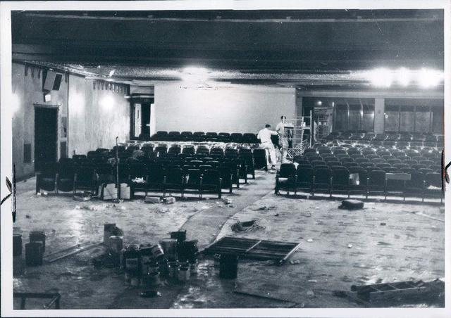1969 interior remodeling. Photo credit Joe McCauley.