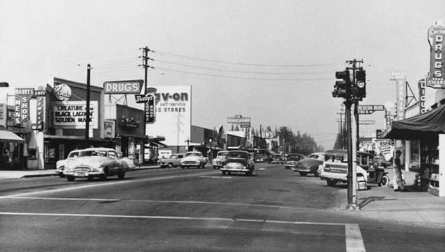 1954 photo courtesy of Charles Okonski.