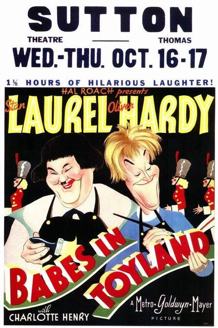 1934 Sutton Theatre poster. Image courtesy of Ted Okuda.