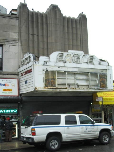 Eagle Theater in Jackson Heights, NY