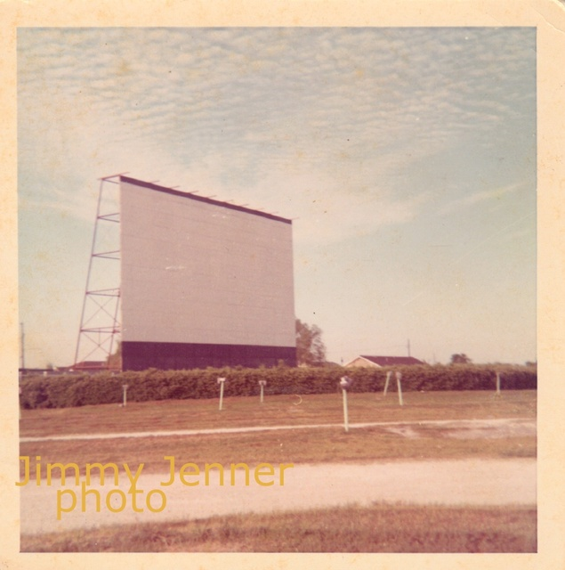 Marrero Drive In Theatre Screen