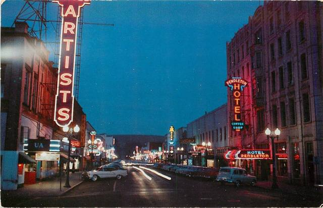 Mid `50's post card.