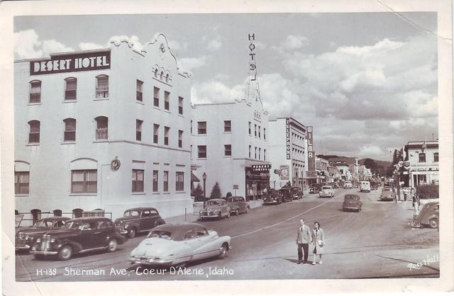 Circa 1940's photo courtesy of the Lincoln Land Facebook page.