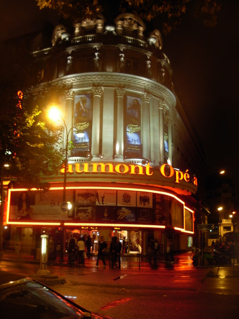 Gaumont at night