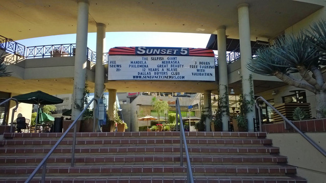 Sunset Cinemas Marquee