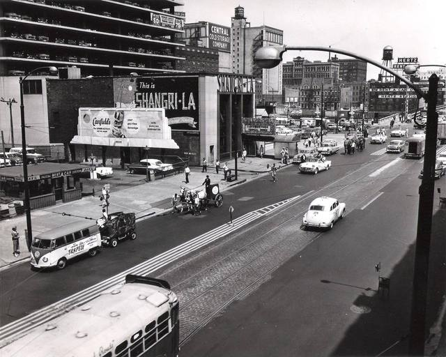 June 14th, 1956 Circus Parade.