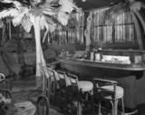 1957 Shangri-La Restaurant bar.