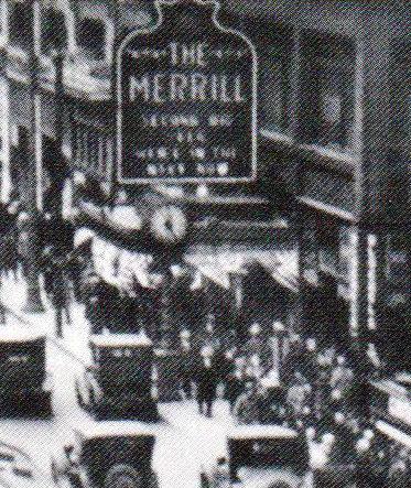MERRILL Theatre; Milwaukee, Wisconsin.