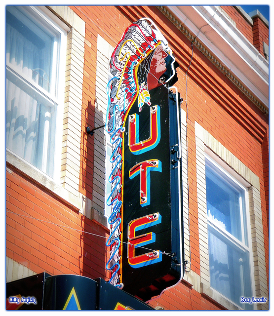 Ute Theater ... Mankato Kansas