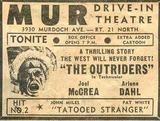 <p>old ad for the mur</p>