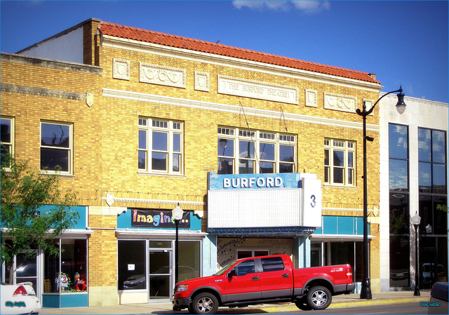 Burford Theatre ... Arkansas City Kansas
