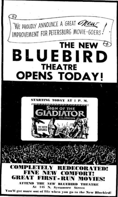 New Bluebird Opening