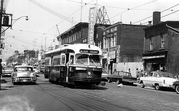 Early 60's photo courtesy of David Imrie via the Vintage Toronto Facebook page.