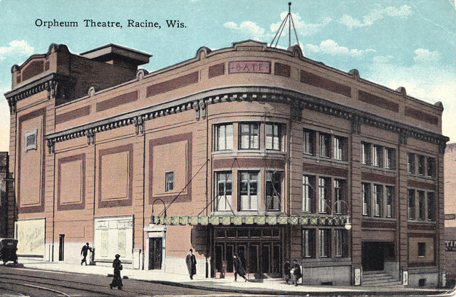 RKO MAINSTREET (ORPHEUM, NATIONAL) Theatre; Racine, Wisconsin.