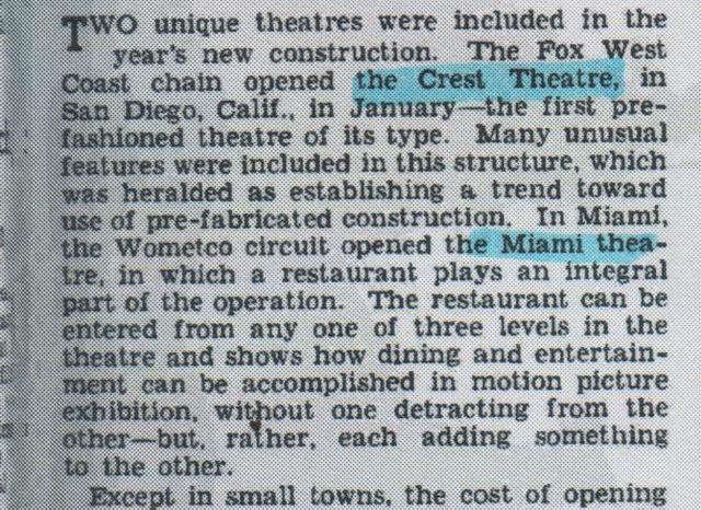 "A paragraph from ""500 Theatres Added In 1947, Investment Over 40 Million"""