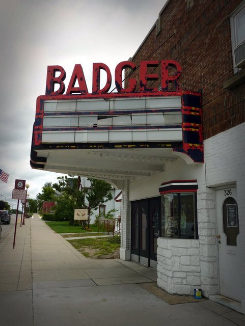BADGER Theatre; Reedsburg, Wisconsin.