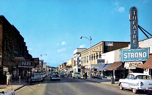 Strand & Park Theaters ... Waynesville North Carolina