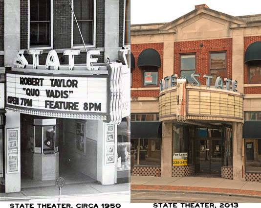 State Theatre: Then & Now