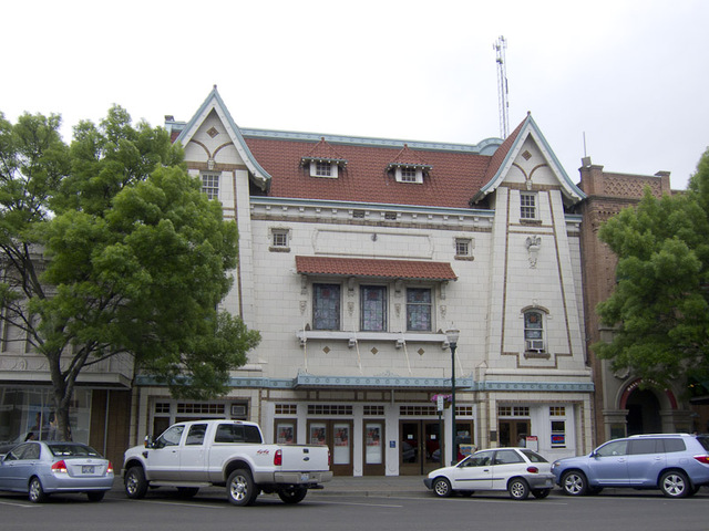 The old Liberty Theater