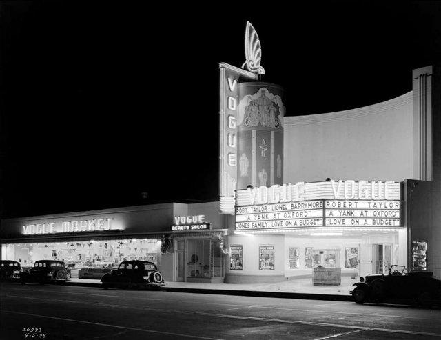Vogue Theatre 1938