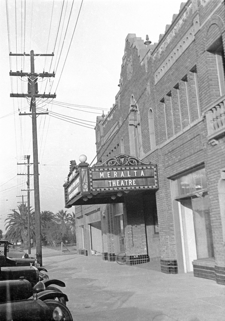 Meralta Theatre, Downey, CA - 1926