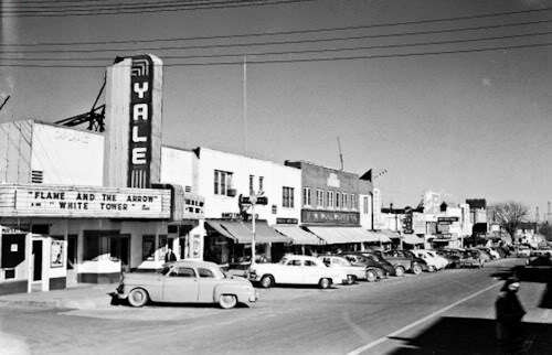 Yale Theater, Oklahoma City, 1950's