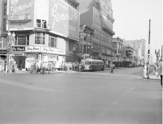 1950's photo courtesy of John Jean Thomas.