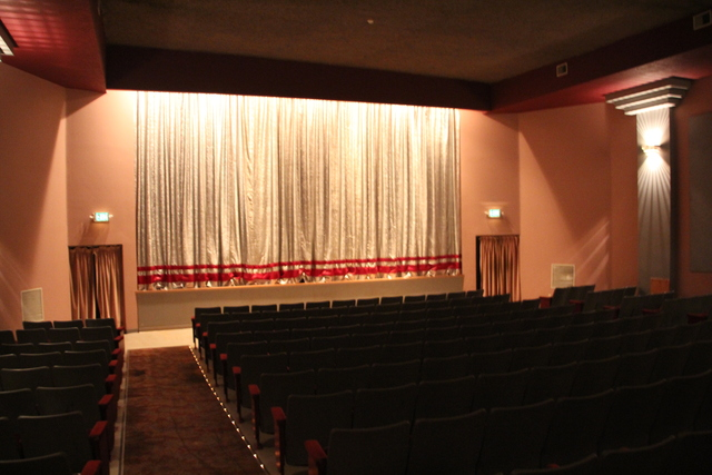 Screen #1 with curtains