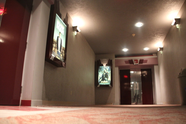 Screen #2 and #3, east lobby, low angle