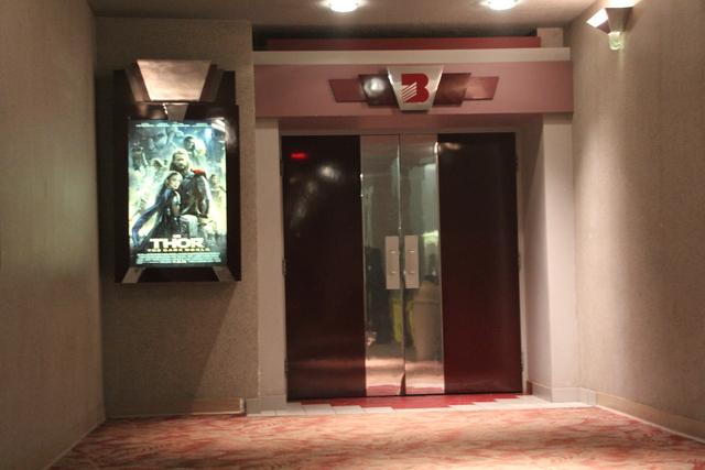 Screen #3 entrance