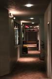 Rear hallway behind concession