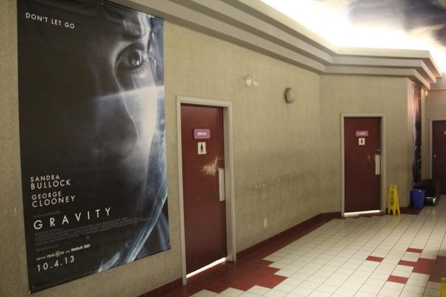 Lobby and bathrooms