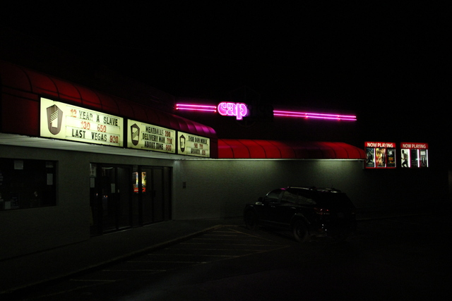 Exterior at night