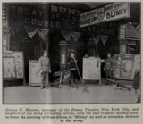 Lobby of the Bunny Theatre, New York in 1923
